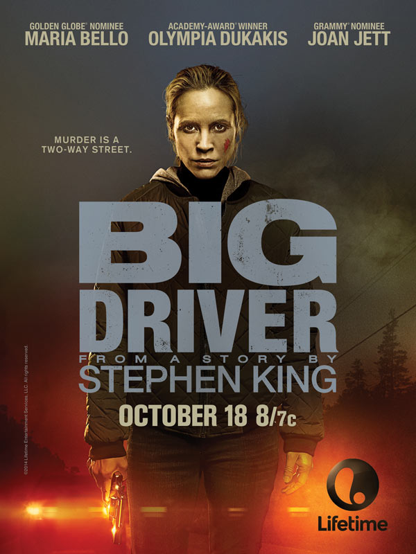 Take a Ride with the Official Poster Art and New Stills for Lifetime's Big Driver