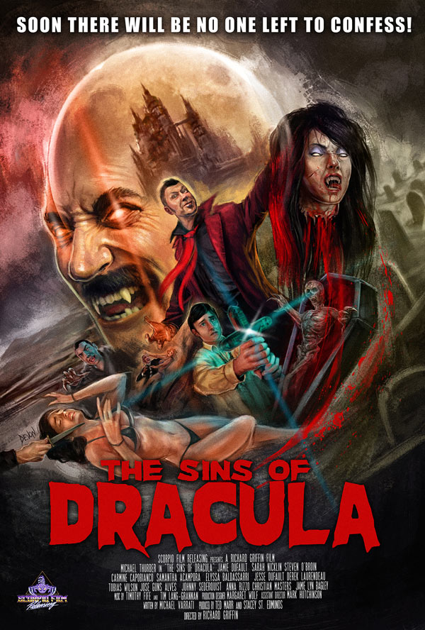Vampire Saga/Christian Scare Mashup The Sins of Dracula Unveils a Trailer, Poster, and Premiere Date!