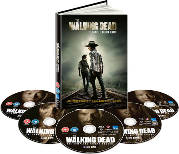 The Walking Dead Season 4 UK Collector's Book