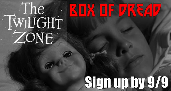 Subscribe to Box Of Dread Twilight Zone September To Win The Walking Dead Season 4 Seventh Box