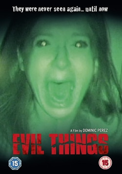 Evil Things UK DVD