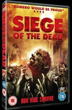 Siege of the Dead UK DVD