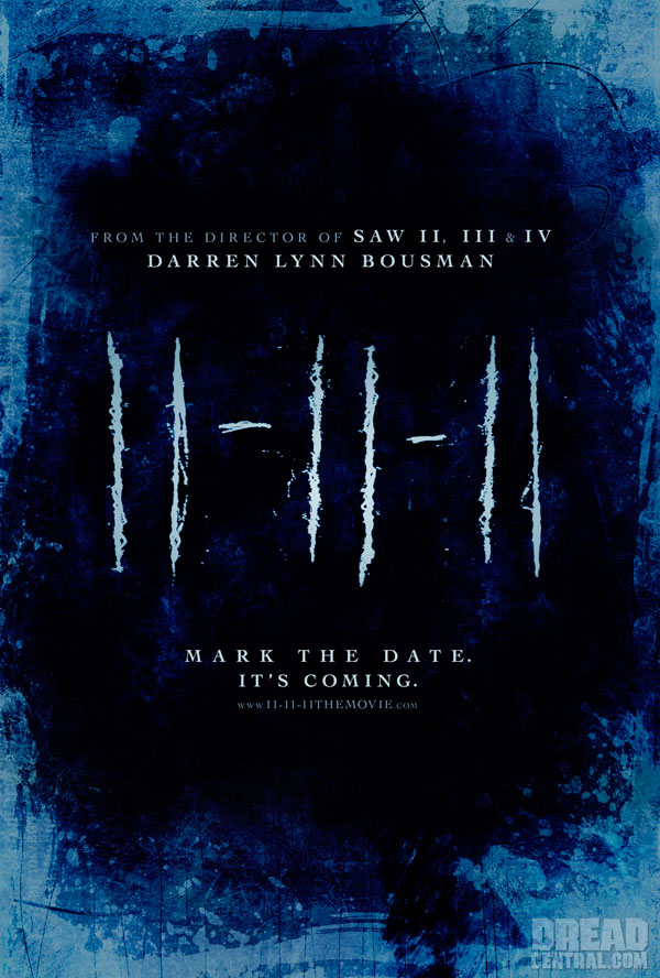 Darren Bousman's 11 11 11 Blog - The Horror Continues