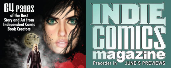 Fight The Zombie War of 1812 in the Summer Edition of Indie Comics Magazine