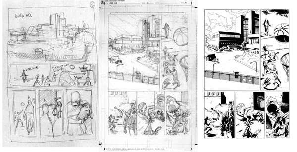 1948page15 - Guest Blog: Artist Max Fiumara Shares His Process for B.P.R.D.: 1948