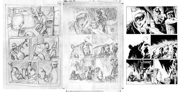 1948page16 - Guest Blog: Artist Max Fiumara Shares His Process for B.P.R.D.: 1948