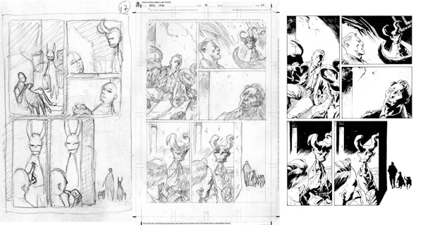 1948page17 - Guest Blog: Artist Max Fiumara Shares His Process for B.P.R.D.: 1948