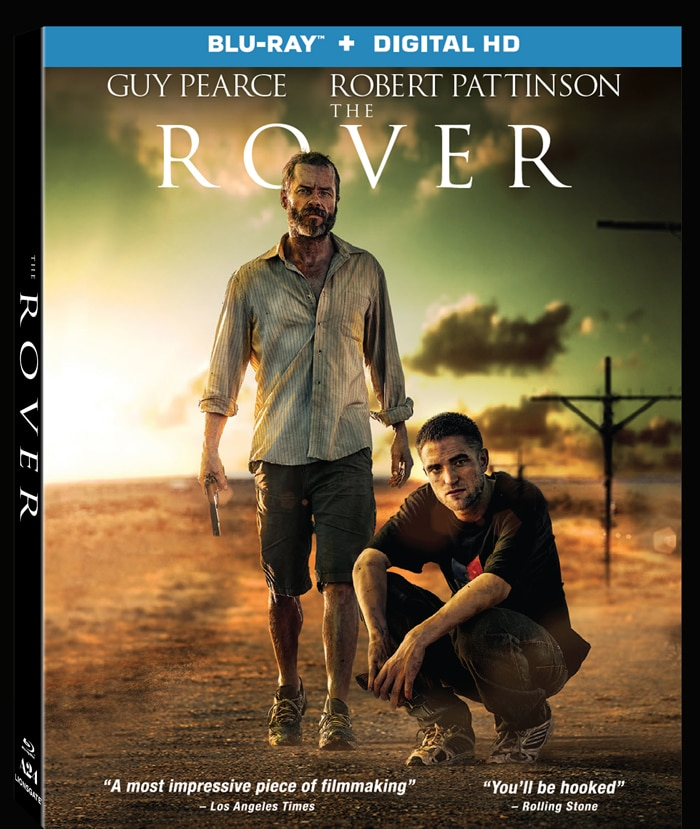 The Rover Blu-ray