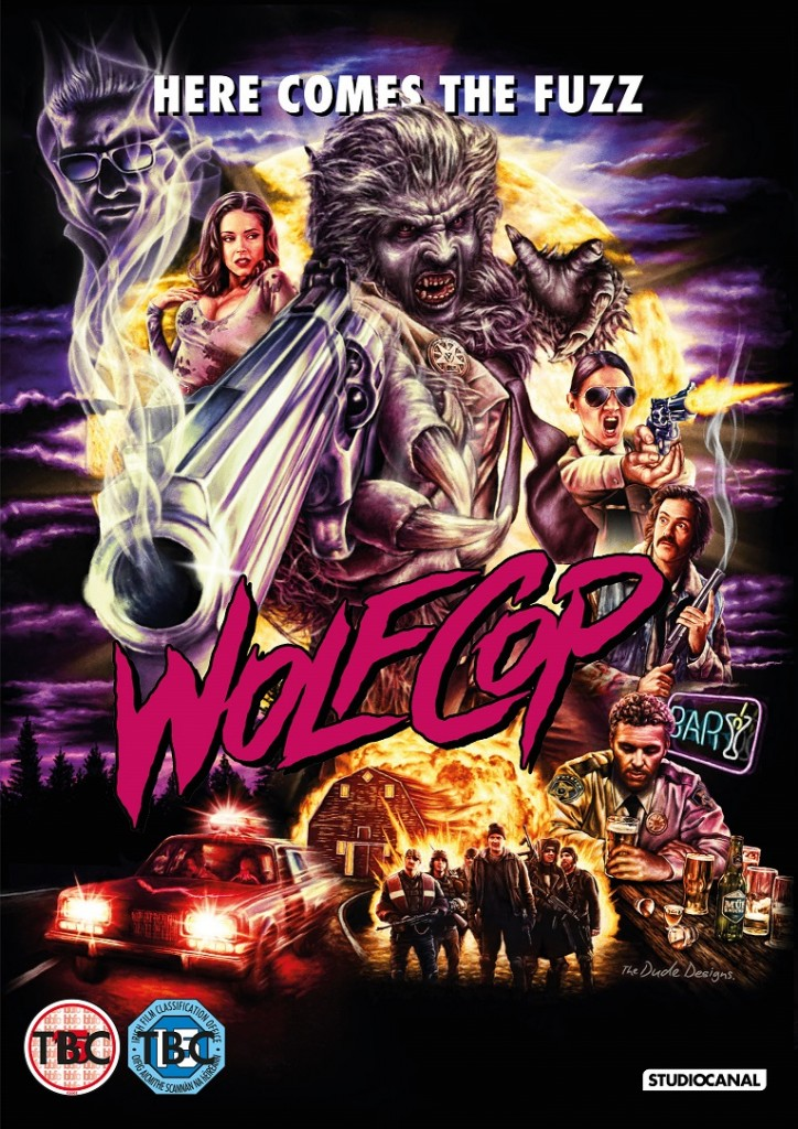 WolfCop UK DVD