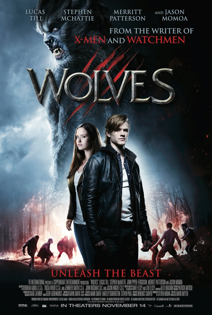 Wolves Poster 3 Large - Wolves Start Howling in New Creature Pics!