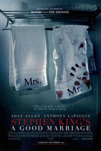 a good marriage poster1 201x300 - Stephen King's A Good Marriage (2014)