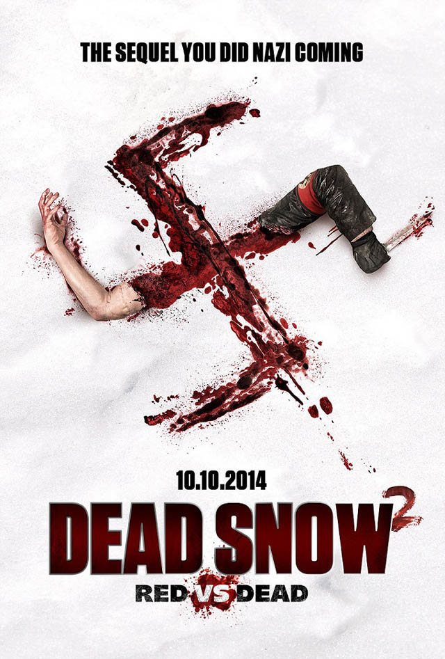 dead snow 2 - Dead Snow 2: Red vs. Dead Theatrical Trailer Comes Goose-Stepping In