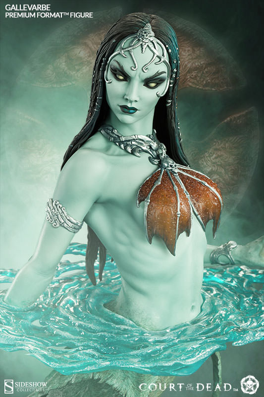 Gallevarbe - Death's Siren - Sideshow Collectibles Court of the Dead