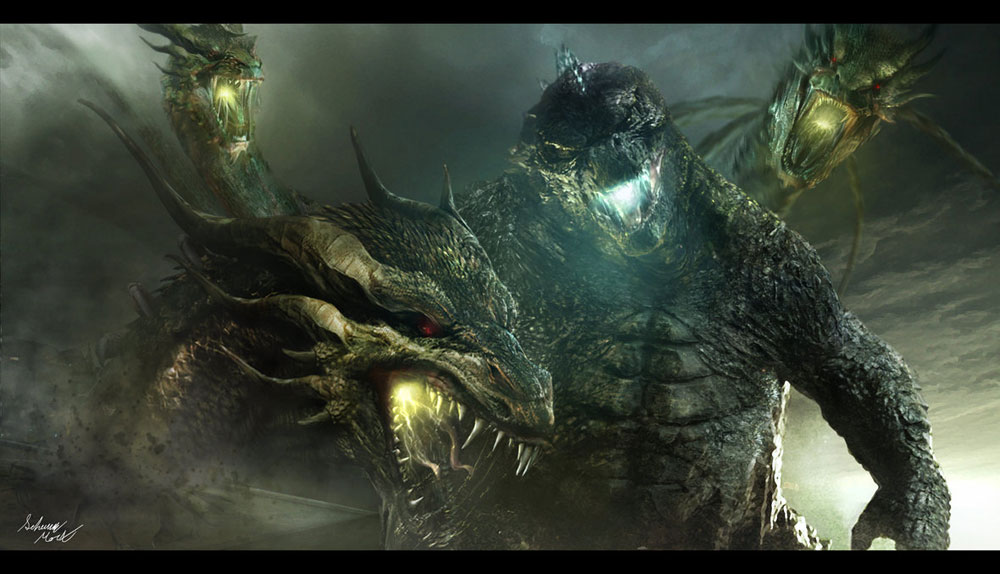 Incredible Godzilla Sequel Fan Art - Dread Central