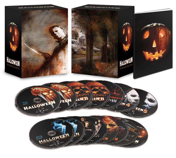halloween complete blu ray - Halloween: The Complete Collection (Blu-ray)
