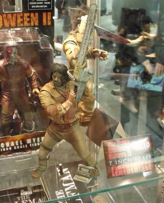 10 Awesome Horror Movie Toys That Were Never Released - Leatherface