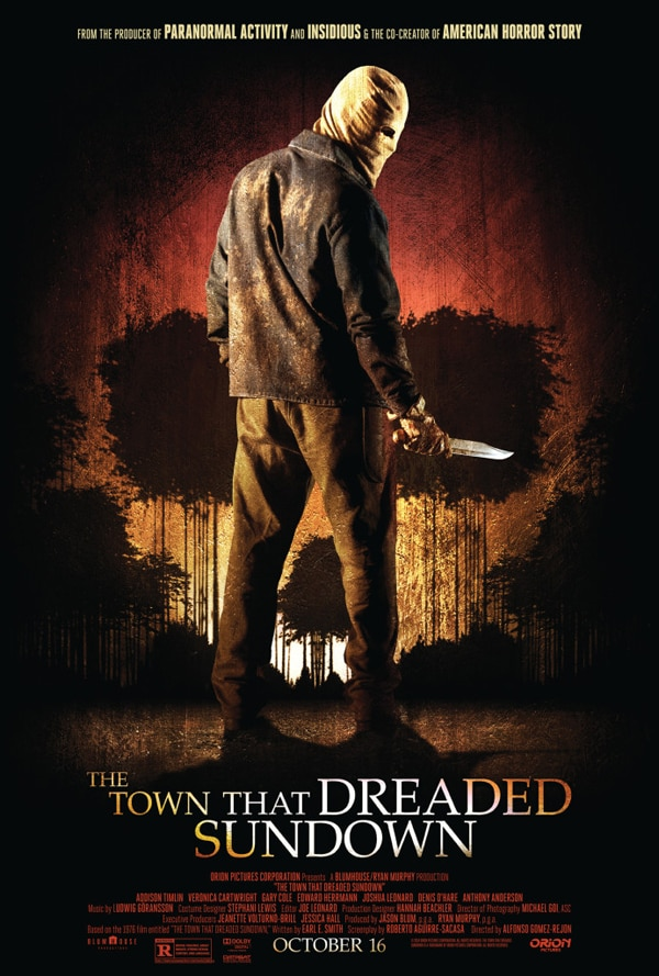 The Town that Dreaded Sundown Onesheet