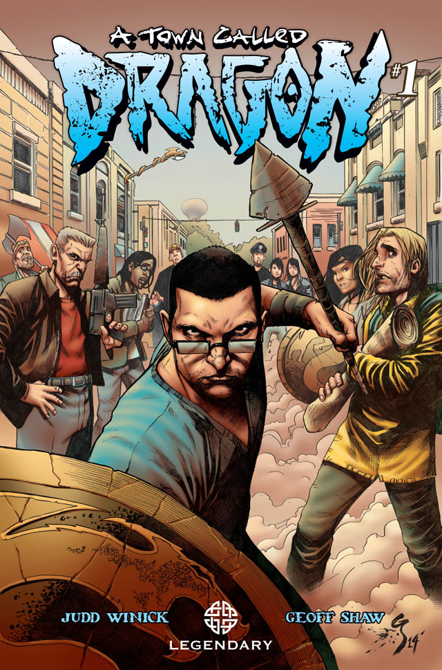 A Town Called Dragon Issue #1