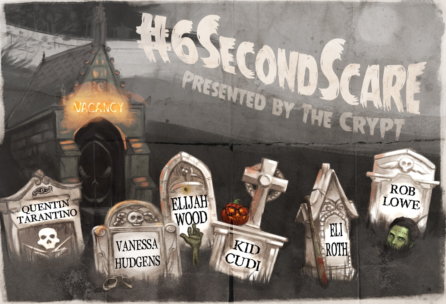 6seconds - The Crypt Launches #6SecondScare Competition; Winner Develops Film with Eli Roth!
