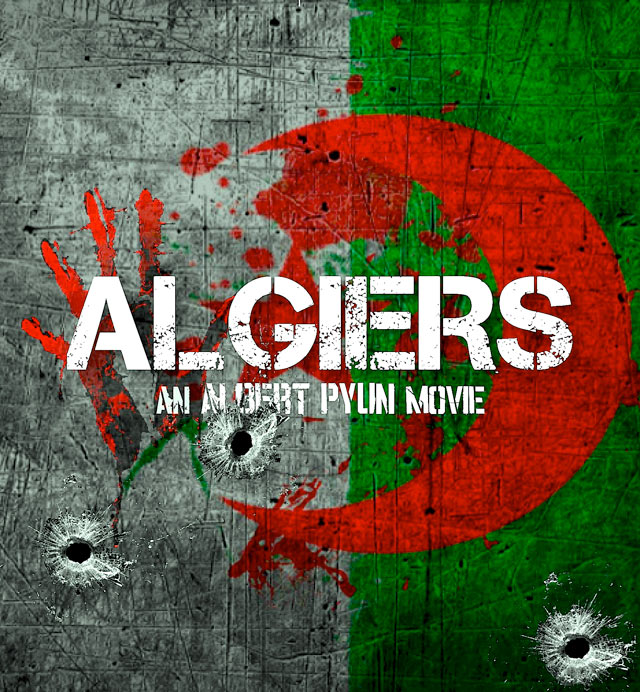 Algiers Art Teaser - New Key Art for The Interrogation of Cheryl Cooper; Updated PollyGrind Screening Details; First Word on Algiers