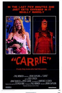 Carrie 199x300 - DC Horror Oscars Part II: Horror Movies That Were Nominated And/Or Won Academy Awards