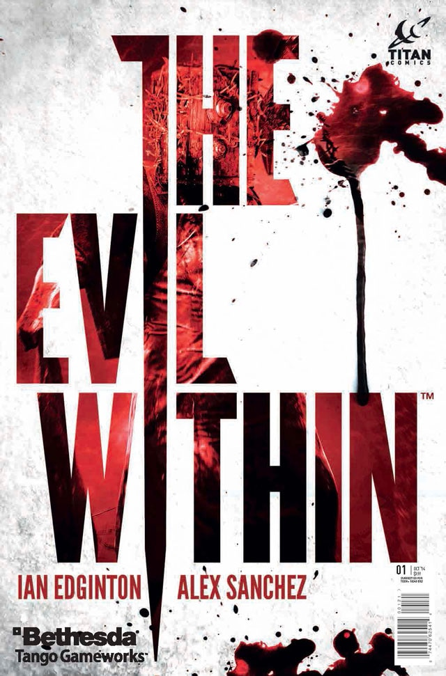 The Evil Within Prequel Comic from Titan Comics