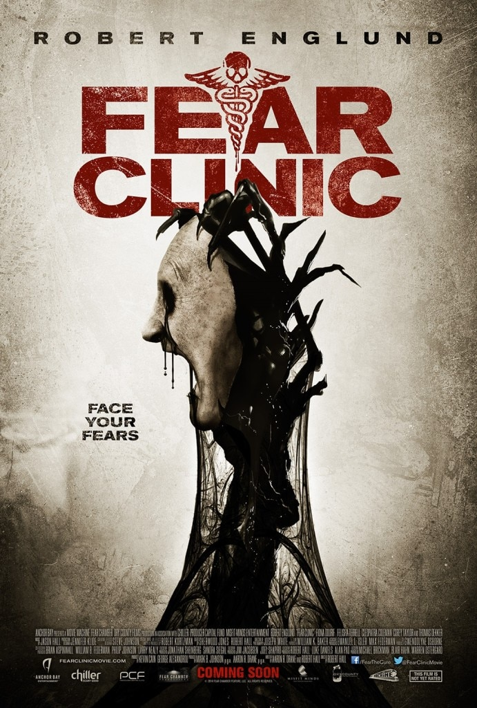 Fear Clinic Poster - Fear Clinic to Practice Terror at Home