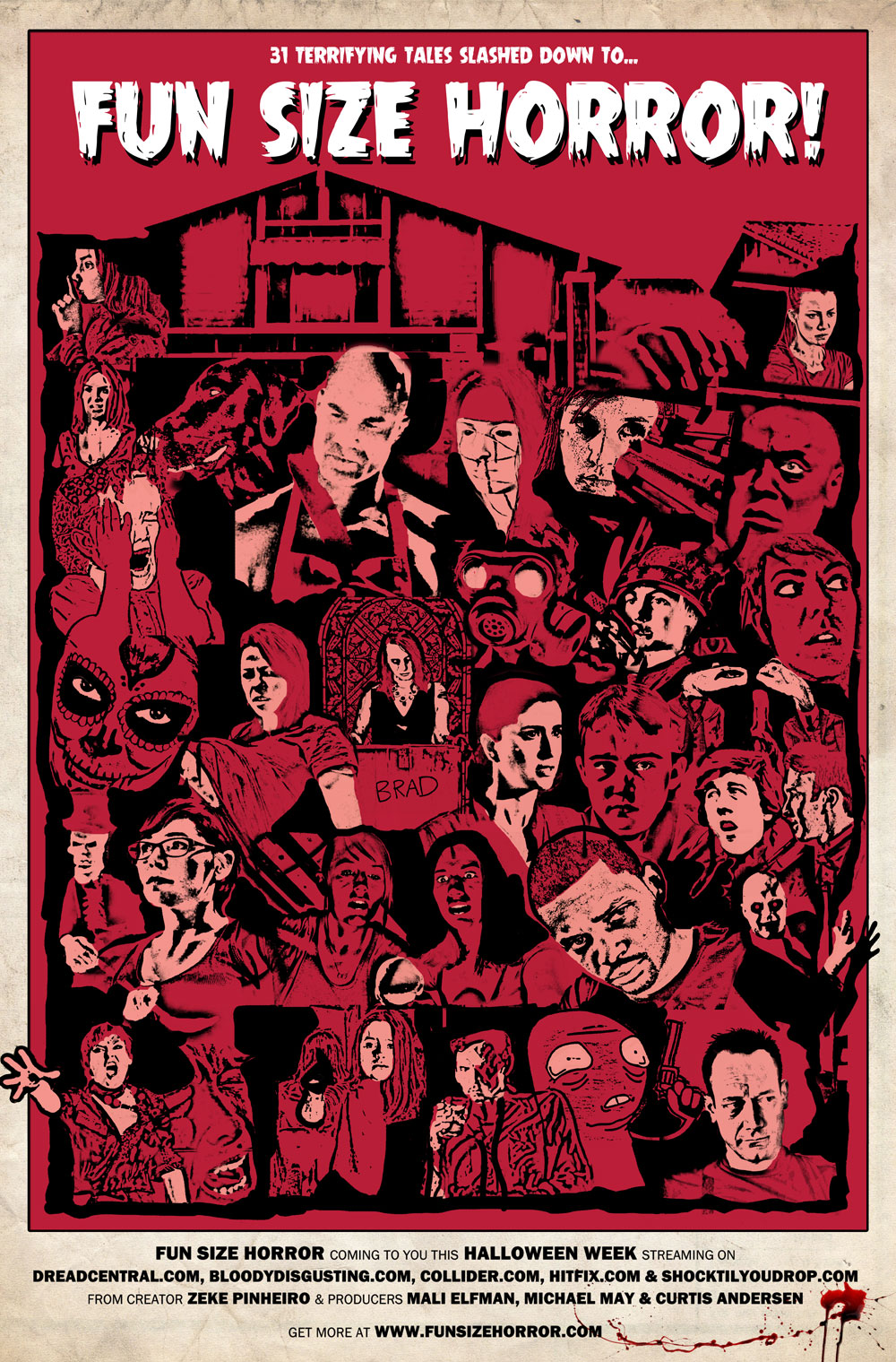 Fun Size Horror Poster - Fun Size Horror Halloween Week Shorts - SEMBLANCE and THE COLLECTION
