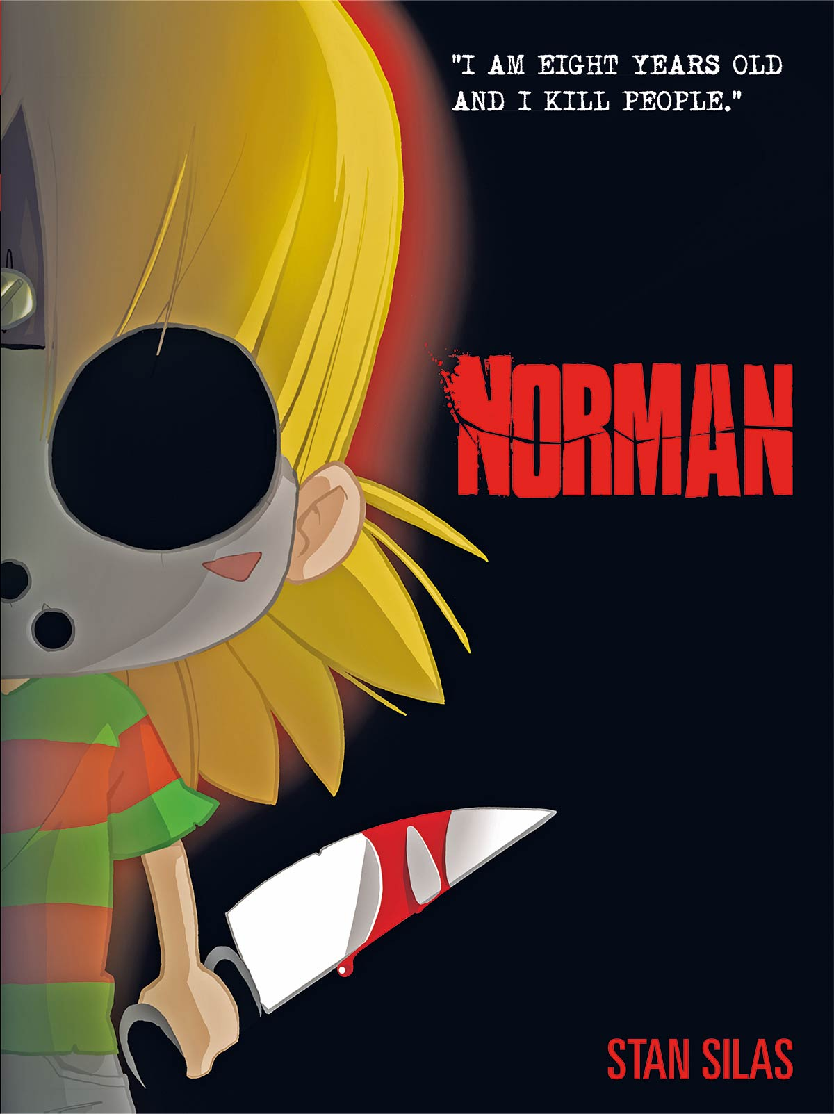 NORMAN VOL. 1 - Norman Says Happy Halloween! See All His Teaser Posters from Titan Comics!