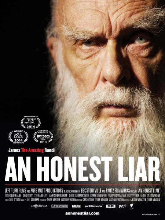 an honest liar - the amazing randi