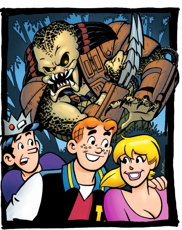 Dark Horse and Archie Comics Announce Archie Meets Predator