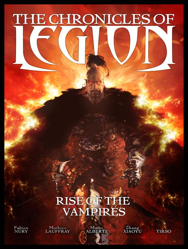 chroniclesoflegion riseofthevampires - New Trailer for The Chronicles of Legion Reveals the Birth of a Legend
