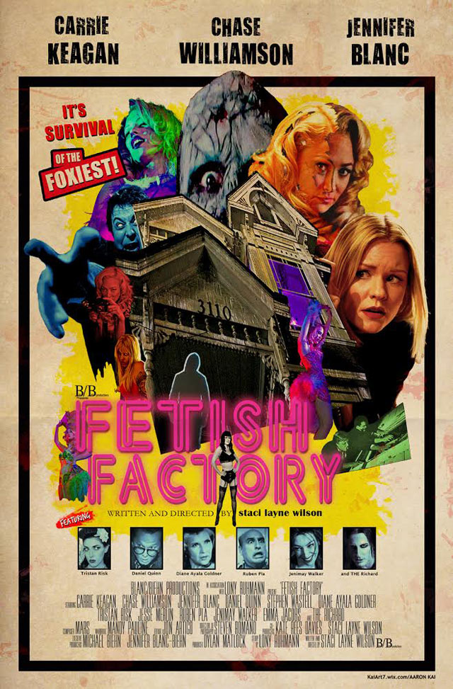 Fetish Factory Poster by Aaron Kai