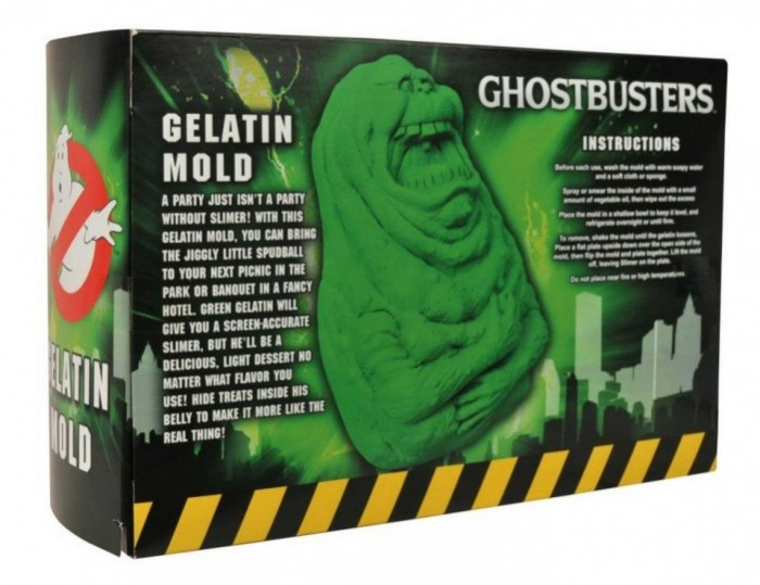 Box of Dread Seventh Box October - Ghostbusters Slimer - Back