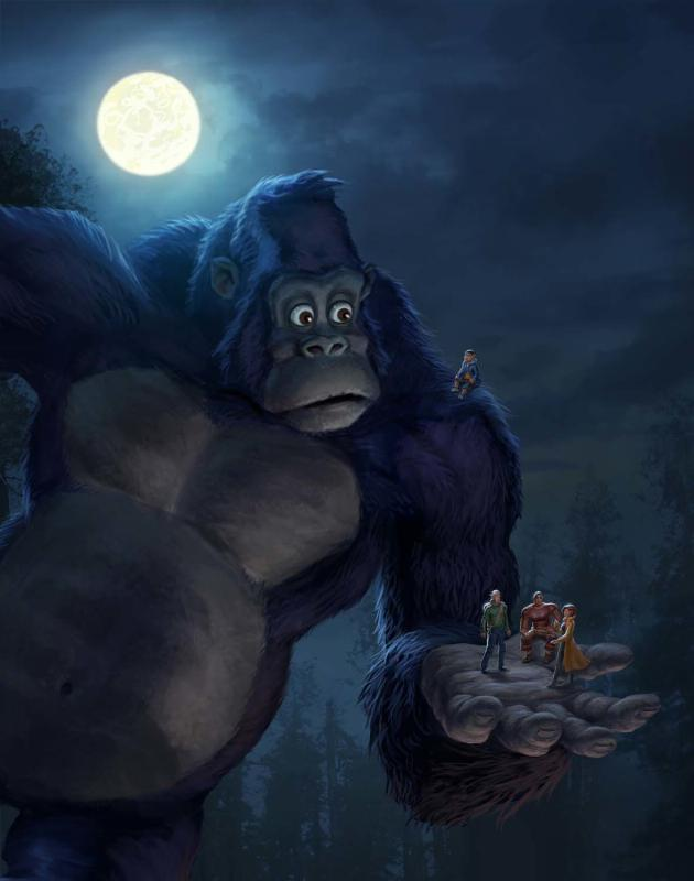 kong animated - Kong - King of the Apes Reveals Impressive Artwork