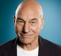 Patrick Stewart Enters the Green Room