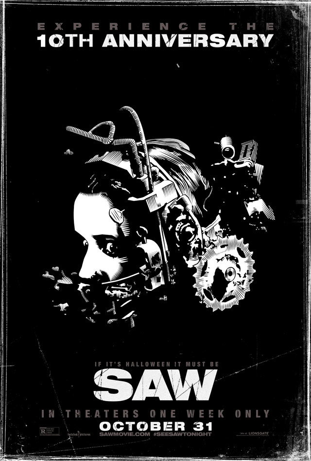 Saw Re-Release Final Poster