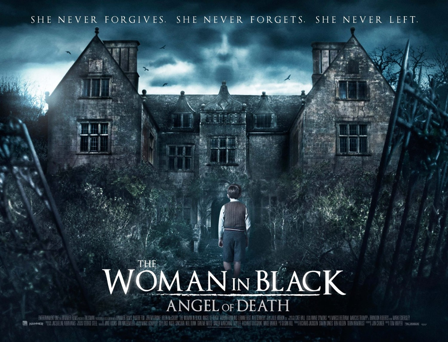 woman in black 2 angel of death, the (2015) - dread central