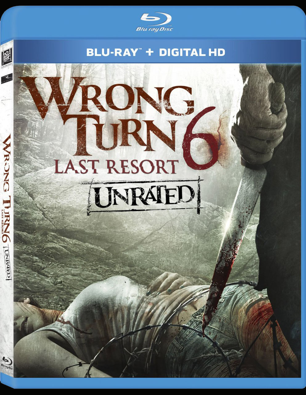 Wrong Turn 6: Last Resort (Blu-ray / DVD) - Dread Central