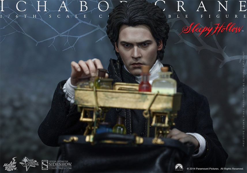 Sideshow Unveils The Ichabod Crane Sixth Scale Figure By