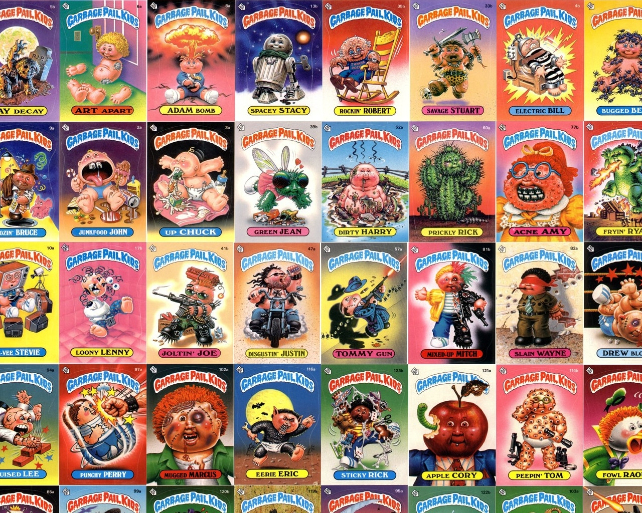 Garbage Pail Kids Documentary In The Works Dread Central