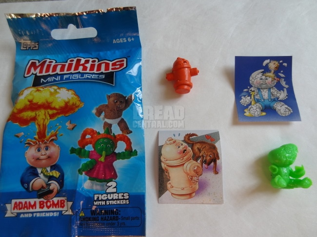 November 2014 Box of Dread - Garbage Pail Kids Minikins Mini Figure