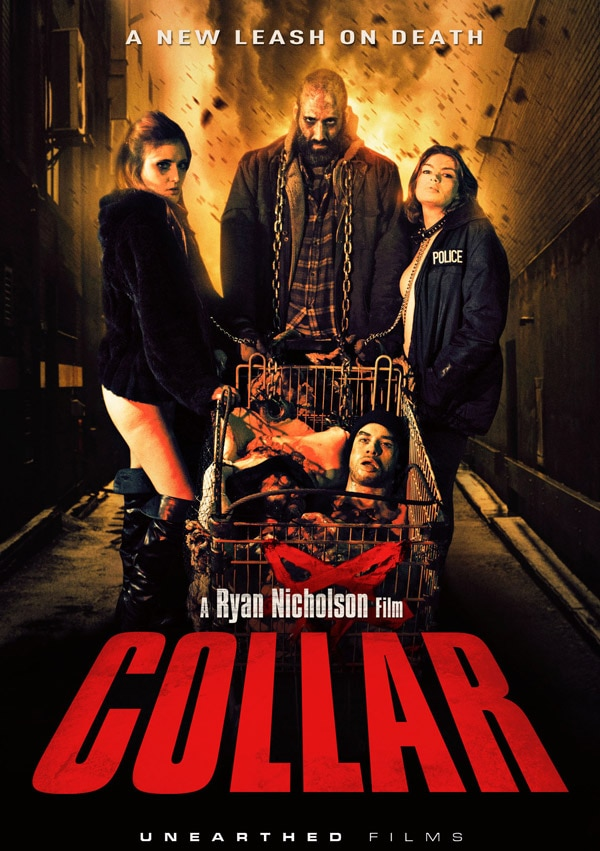 collardvd - New Trailer Unearthed for Ryan Nicholson's Collar