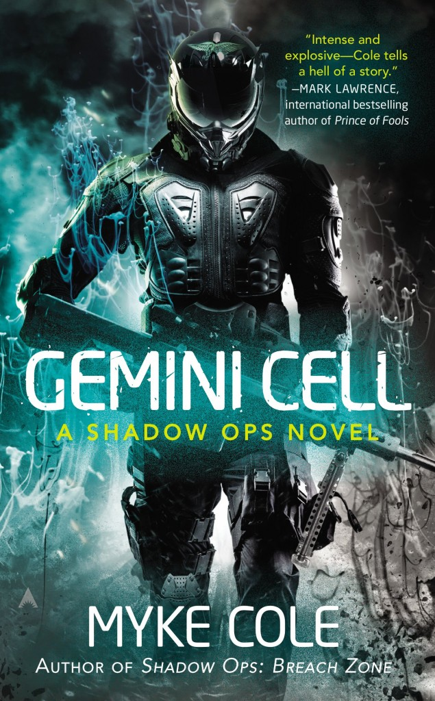 gemini cell 635x1024 - First Details on Myke Cole's Gemini Cell: A Shadow Ops Novel