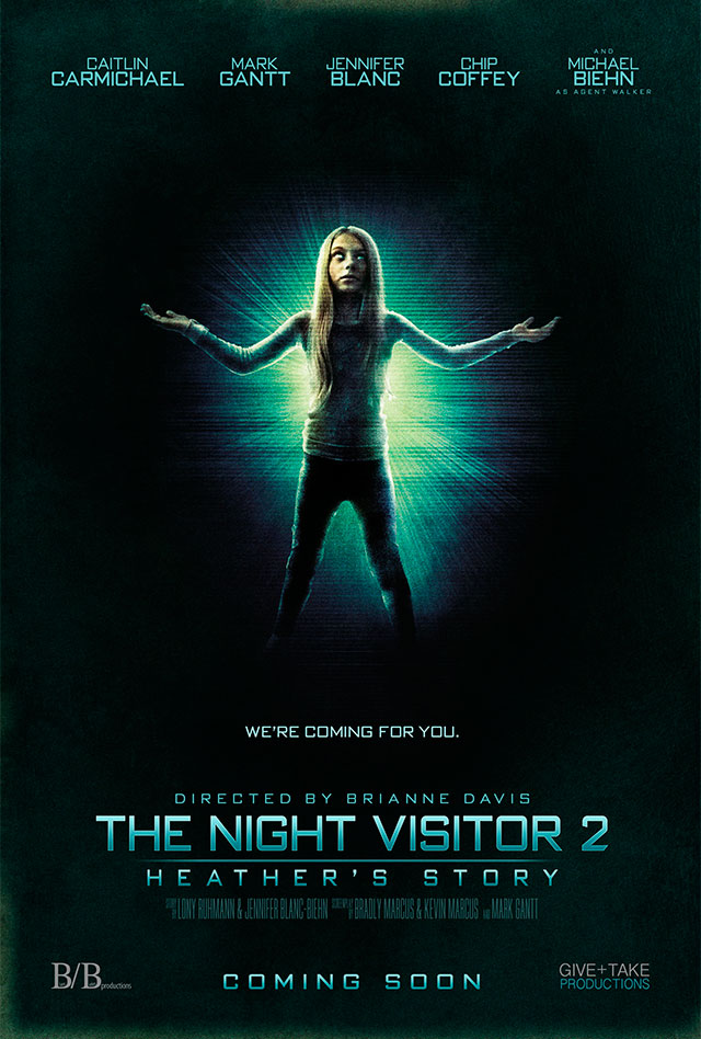 nightvisitor2 newposter - Be Thankful for this Poster Debut for The Night Visitor 2: Heather's Story
