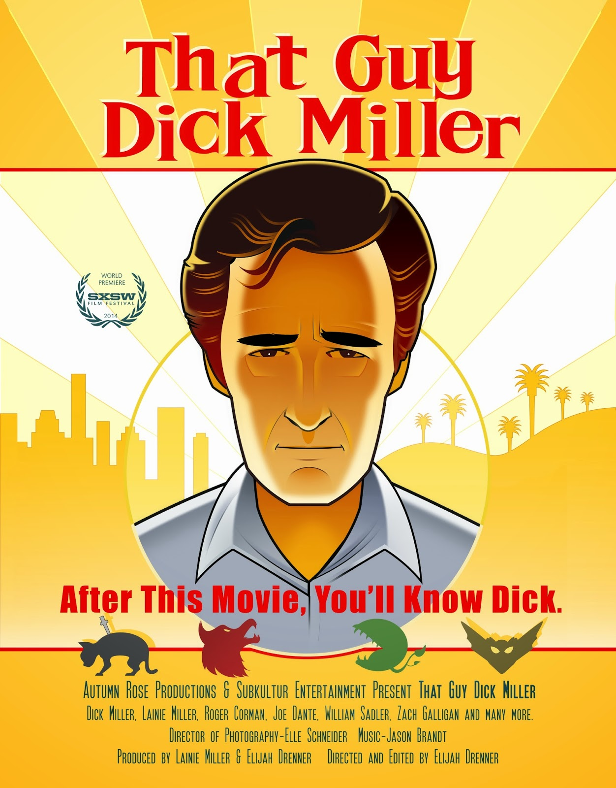 thatguydickmiller - American Cinematheque Presenting LA Premiere of That Guy Dick Miller on December 5th