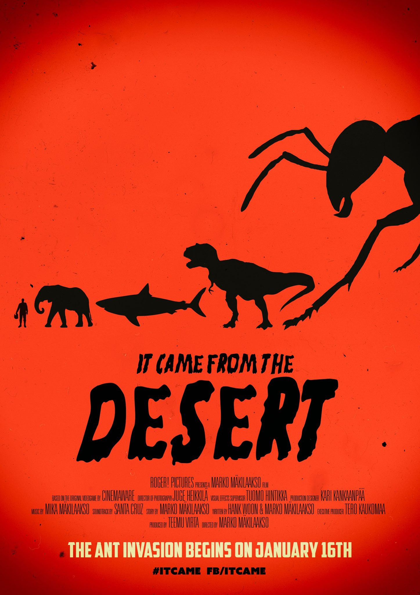 It Came From The Desert With Giant Ants Dinosaurs And More
