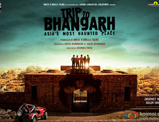 bhangarh poster - The Gasp Menagerie: Haunted Indian Fort Frightens Filmmakers