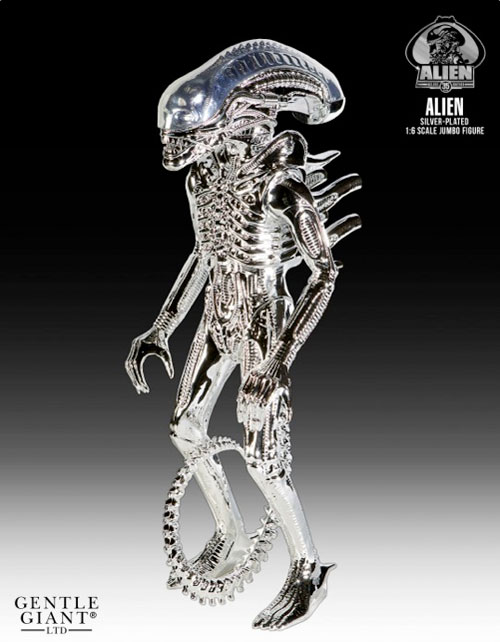 kenneraliensilver - Gentle Giant Announces Silver and Gold Kenner-Inspired Jumbo Alien Figures