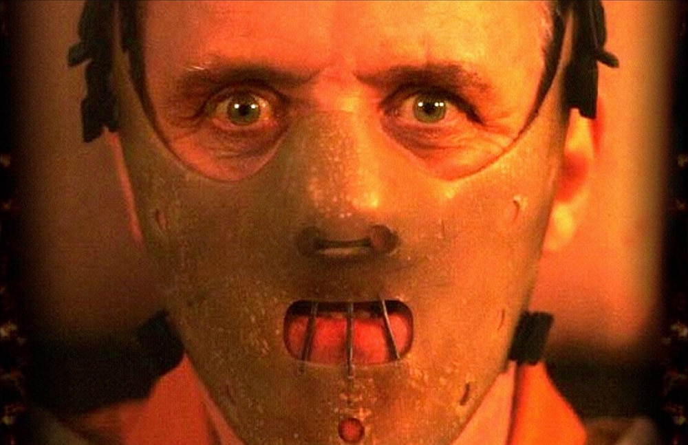 lecter - Watch Anthony Hopkins Try on Different Hannibal Masks in Rare Silence of the Lambs Footage